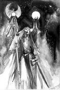 Mago alto elfo por Paul Dainton