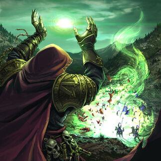 Vórtice del Caos por Chris Trevas Hechicero del Caos