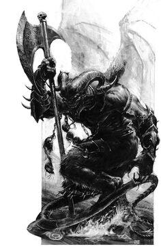 Príncipe demonio por Karl Kopinski