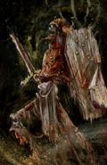 Guerrero Esqueleto por John Blanche