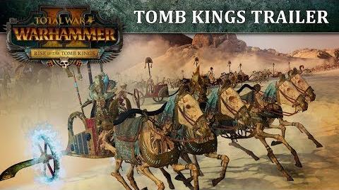 Total War WARHAMMER 2 - Tomb Kings Trailer PEGI SPA-0