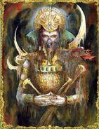 Amenhotep Dreafleet por John Blanche