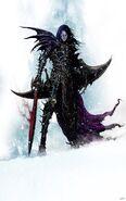 Deathblade Malus Darkblade por Clint Langley