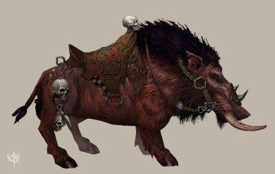 Jabalí de Guerra básico por Erik Polak Warhammer Online