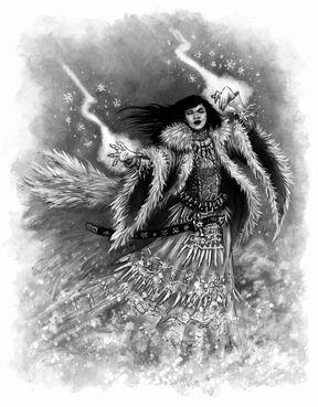 Dama de Hielo por Pat Loboyko