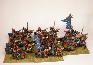 Caballeros Árabes Arabia Warmaster Miniaturas