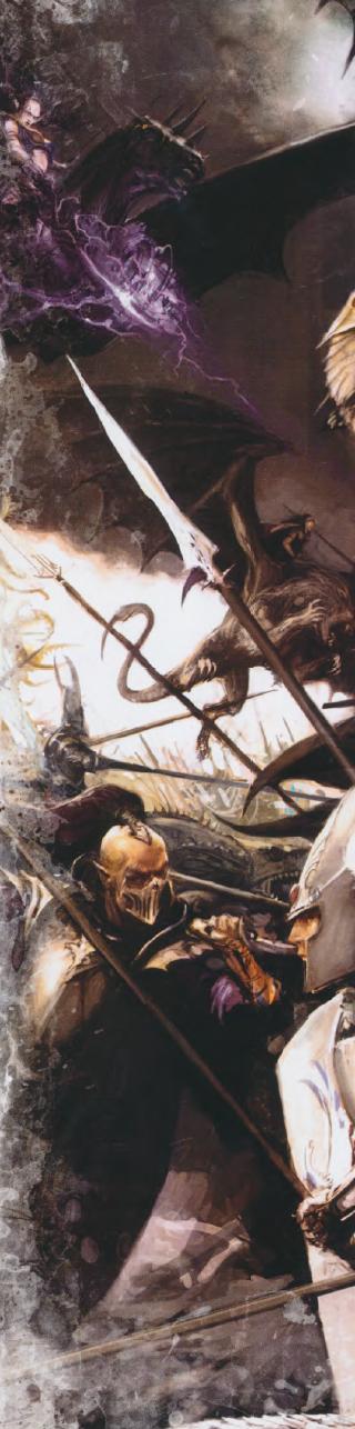Masacre en la puerta del aguila elfos oscuros