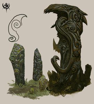 Monolito de Norsca Warhammer Online