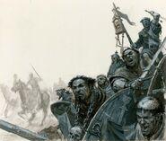 Peregrinos del Grial por Paul Dainton