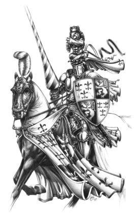 Caballero del Reino por Des Hanley