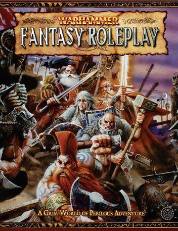 Portada ingles warhammer juego de rol segunda edicion
