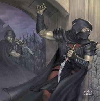 Asesino Elfos Oscuro por Erik Polak