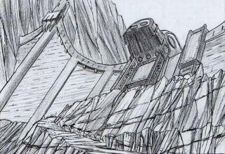 Fortaleza de Skalf por Tony Parker