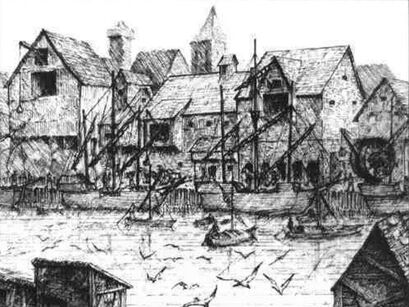 Asociación de Barqueros Fluviales por Martin McKenna Marienburgo