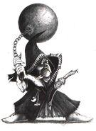Fanático Goblin Nocturno por John Blanche