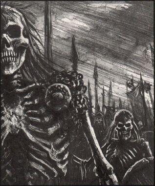 Regimineto esqueletos dibujo
