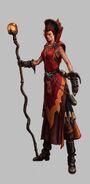 Hechicera Brillante 03 Warhammer Online por Michael Phillippi