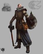Sacerdote Guerrero 01 Warhammer Online por Michael Phillippi