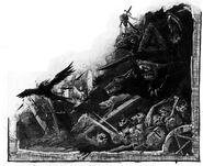 Skaves y ratas Mordheim por John Blanche