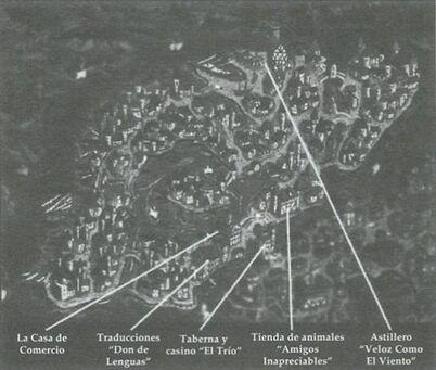 Mapa Barrio élfico