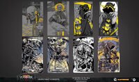 Carta muerte arte conceptual vermintide 2 por Svjeeta, John Silva y Arash Radkia