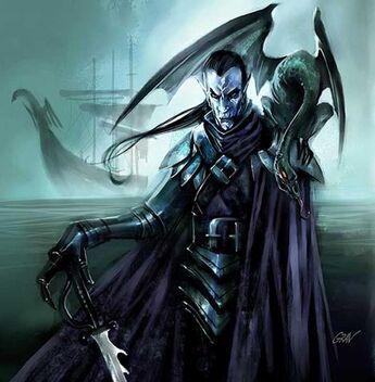 John-gravato-dark-elf-corsairs Corsario Elfo Oscuro