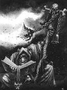 Lord Skrolk por Mark Gibbons
