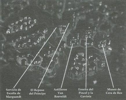Mapa Goudberg
