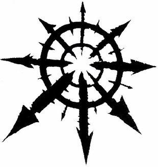 Estrella del Caos Blanco y Negro