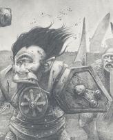 Campeon del caos ciclope por Adrian Smith