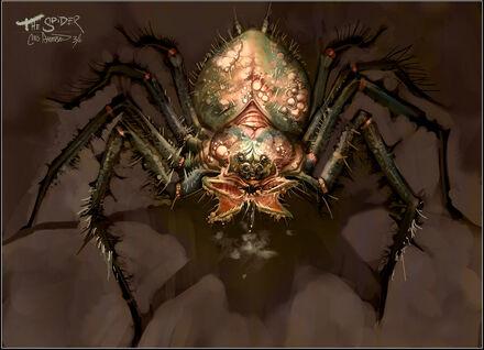 Araña Gigante Warhammer Online por Chris J. Anderson