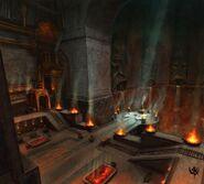 Karaz-a-Karak distrito de metal Warhammer Online por Michael Phillippi