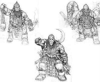 Bocetos Enanos del Caos