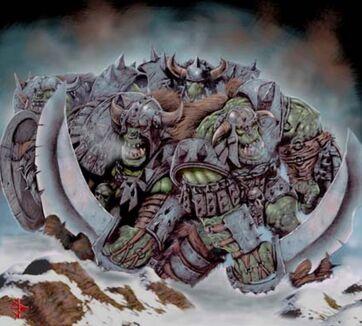 Battleworn Orcs por James Brady jimbradyart Orcos