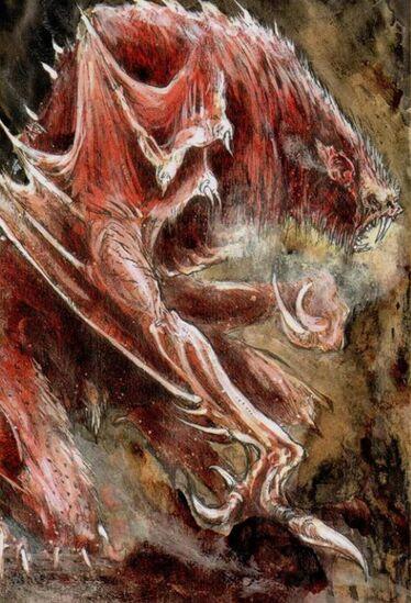 Varghulf por John Blanche