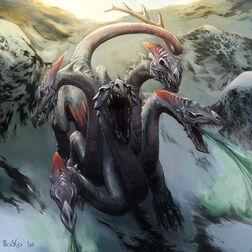 Hidra Tóxica de Joao Bosco Elfos Oscuros
