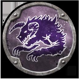 Emblema Warhammer Total War Hueste del Mastín