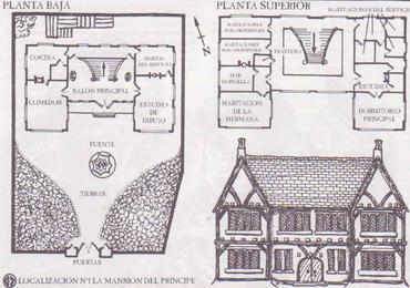 Mapa mansion principe bolgasgrado