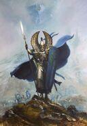Portada Altos Elfos 8ª edición por Paul Dainton
