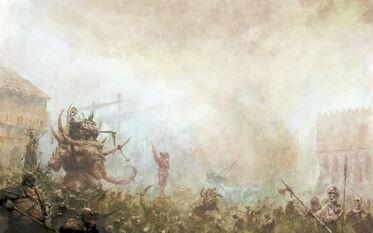 Batalla de Marienburgo por Mark Holmes