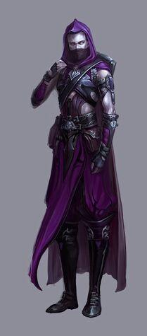 Asesino Elfo Oscuro Warhammer Online