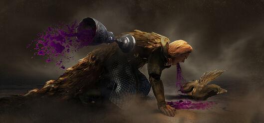 Bel Shanaar envenenado warhammer total war por Guillem H. Pongiluppi