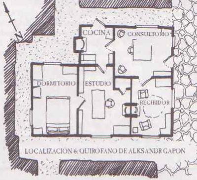 Casa aleksander gapon