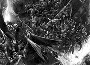 Death below por Alex Boyd Hombres Bestia