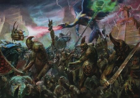 Demonios contra Hombres Lagarto