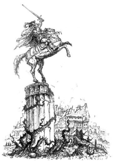 Mordheim Estatua del Conde Gotthard