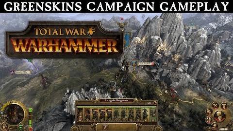 CuBaN VeRcEttI/Vídeo de juego del mapa de campaña de Total War: Warhammer