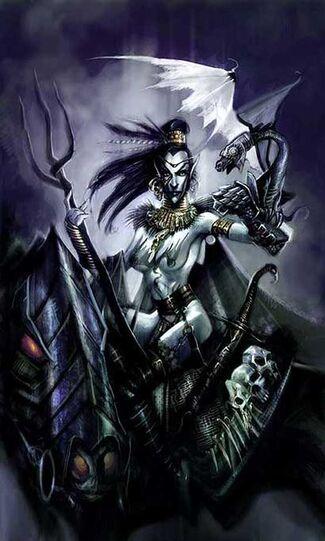 John-gravato-darkelf-sorcerer Hechicera Elfa Oscura