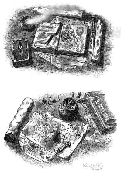 Blood2 libros por Tiernen Trevallion
