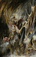 Engendros del Terror Terroghiest por John Blanche